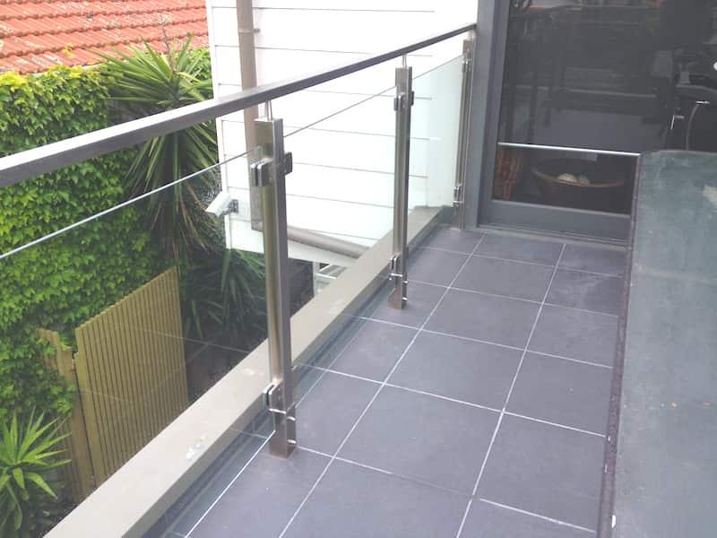 brighton apartment glass balustrading