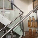 Cranbourne steel balustrade