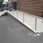 Lyndhurst Stainless steel railings