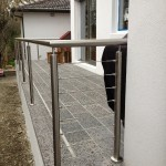 Junction Village wire balustrading