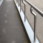 Clayton South Stainless steel railings