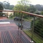 Dandenong wire balustrading