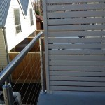 Noble Park wire balustrading