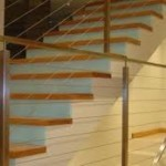 Clayton wire balustrade