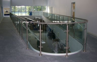 Edithvale glass balustrading