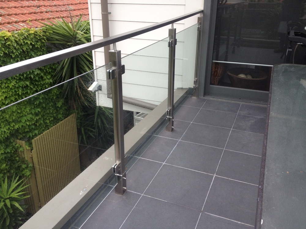 Keysborough glass balustrade