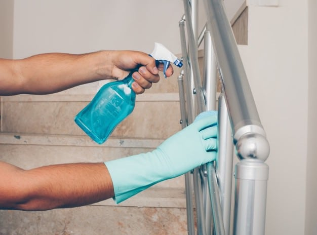 Springvale Handrail Cleaning